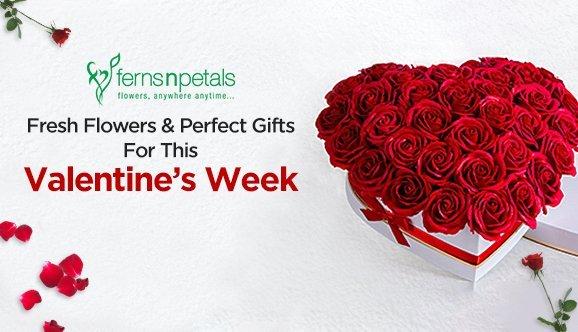 ferns & petals valentines day