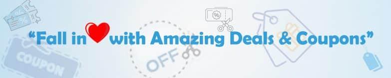 Amazing coupons and cashbacks netrockdeals