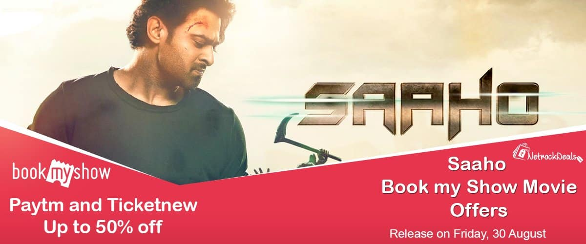 saaho movie bookmyshow